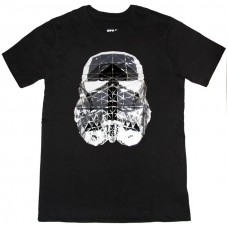 Star Wars – Silver Reflective Stormtrooper Mask T-Shirt (Licensed)