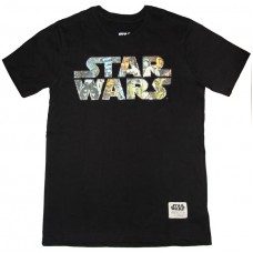 Star Wars – Logo & Characters T-Shirt (Licensed)